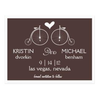 Vieja reserva de las bicicletas el | de la moda la postales