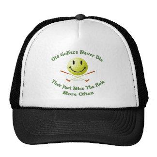 Vieja Srta The Hole de los golfistas Gorro De Camionero