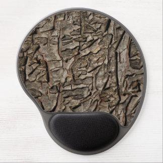 Vieja textura de la corteza de árbol alfombrilla gel
