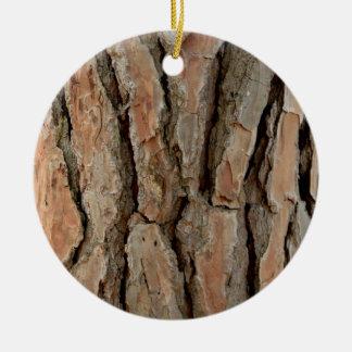 Vieja textura de la corteza de árbol ornamento de reyes magos