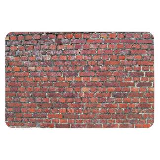 Vieja textura de la pared de ladrillo imán