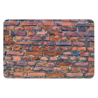 Vieja textura de la pared de ladrillos iman