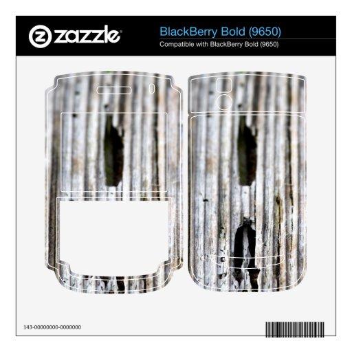 Vieja textura de madera BlackBerry skins