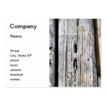 Vieja textura de madera tarjetas de negocios