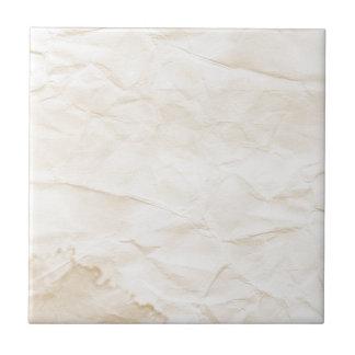 vieja textura de papel con la mancha del café azulejo