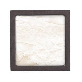 vieja textura de papel con la mancha del café cajas de recuerdo de calidad