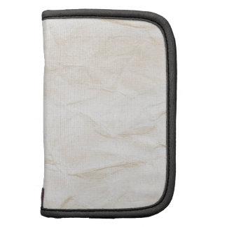 vieja textura de papel con la mancha del café planificadores