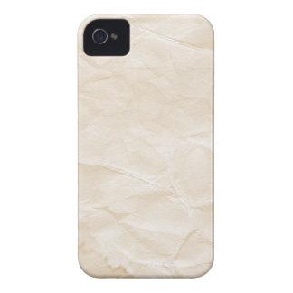 vieja textura de papel con la mancha del café iPhone 4 Case-Mate protector