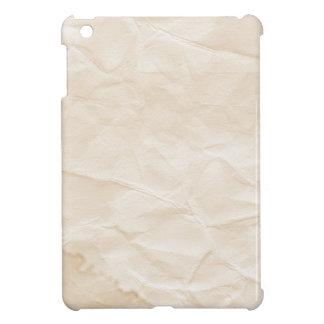vieja textura de papel con la mancha del café iPad mini coberturas