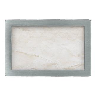 vieja textura de papel con la mancha del café hebilla cinturon