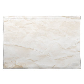 vieja textura de papel con la mancha del café mantel individual