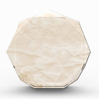 vieja textura de papel con la mancha del café