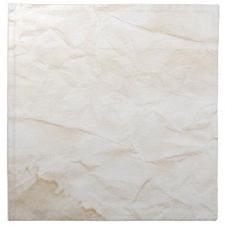 vieja textura de papel con la mancha del café servilletas