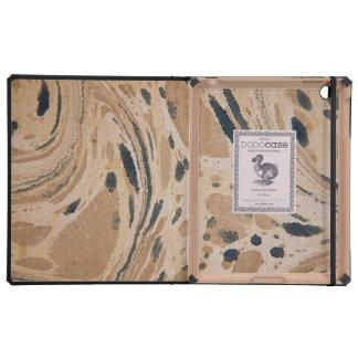 Vieja textura del papel veteado iPad cobertura