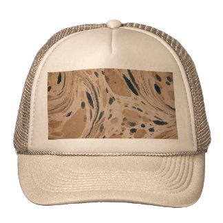 Vieja textura veteada gorra