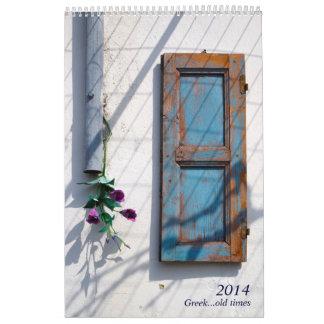 Viejas épocas griegas calendario