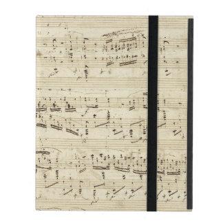 Viejas notas de la música - hoja de música de
