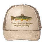 Viejas palabras de la pesca gorra