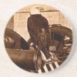 Viejo Abe, el vintage 1875 de Eagle de la guerra d Posavaso Para Bebida