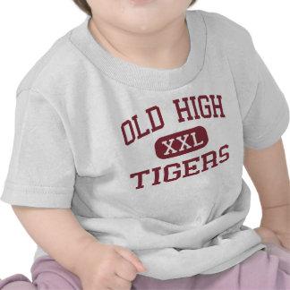 Viejo alto - tigres - centro - Bentonville Arkansa Camisetas