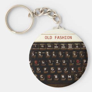 Viejo amor de la moda - máquina de la máquina de llavero redondo tipo pin