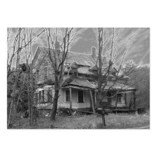 Viejo ATC del ~ de la casa Tarjetas De Visita Grandes