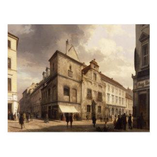 Viejo ayuntamiento, 1867 Berlín Postal