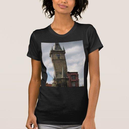 Viejo ayuntamiento Praga Tshirts