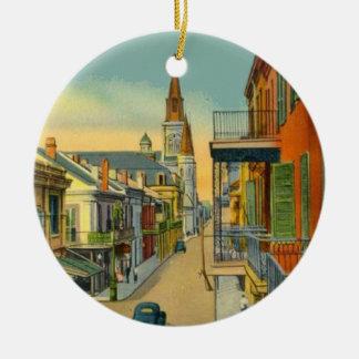 Viejo barrio francés de New Orleans Ornamente De Reyes