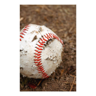viejo béisbol papelería