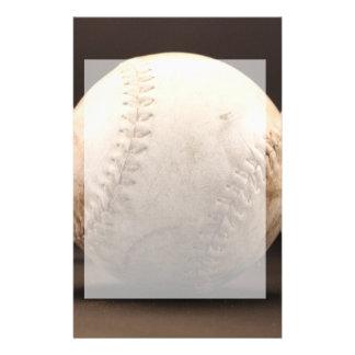 Viejo béisbol personalized stationery