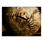 Viejo béisbol poster
