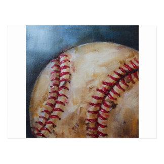 Viejo béisbol postal