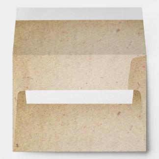 viejo boda de papel del vintage A7 de la textura Sobres
