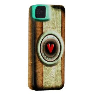 Viejo caso de madera del iPhone 4S del iPhone 4 de iPhone 4 Funda
