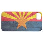 Viejo caso de madera del iPhone 5 de la bandera de iPhone 5 Protectores
