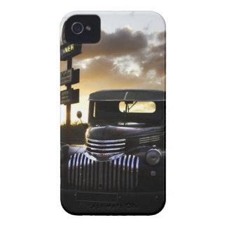 Viejo caso del iPhone 4/4S Barely There del camión Carcasa Para iPhone 4 De Case-Mate