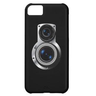 Viejo caso retro del iPhone 5 C de la cámara de la Funda Para iPhone 5C