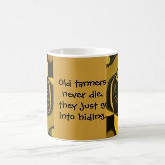 viejo chiste de los curtidores taza de café