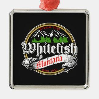 Viejo círculo del pescado blanco ornato