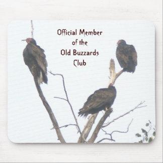 Viejo club Mousepad de los halcones