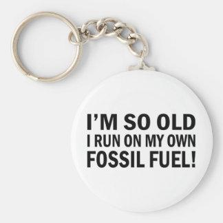 Viejo combustible de Fossel Llaveros Personalizados