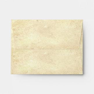 viejo diseño de los sobres del papel del vintage