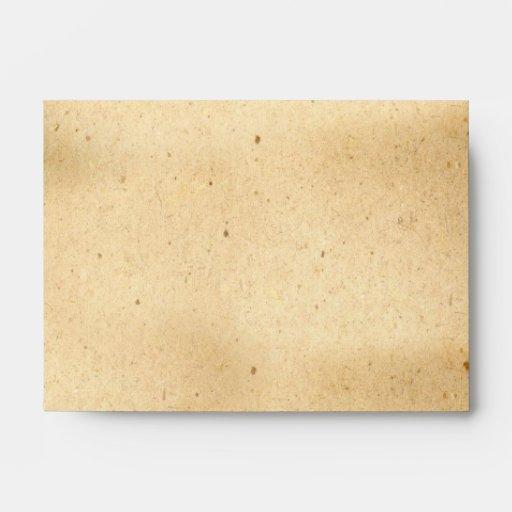viejo diseño de los sobres del vintage