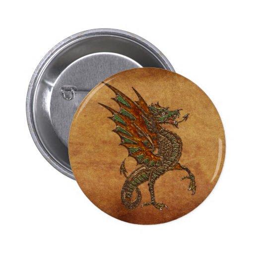 Viejo diseño medieval del dragón de YE Pin