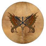 Viejo diseño medieval del dragón de YE Relojes