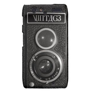 Viejo efecto Motorola Droid RAZR de la cámara de Droid RAZR Funda