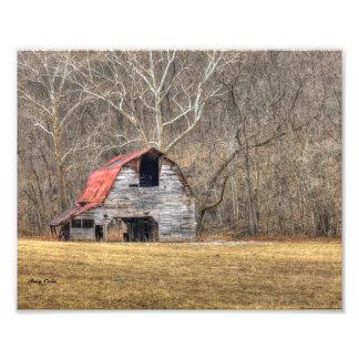 Viejo esplendor del granero fotografías