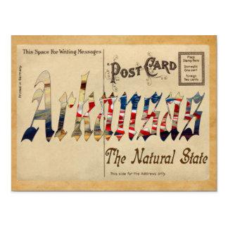 Viejo estado de Arkansas de la postal
