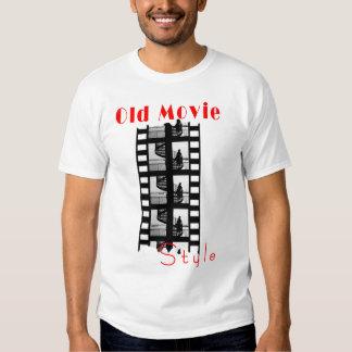 Viejo estilo de la película playeras